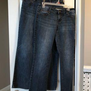 DKNY Women's Jeans 2 pairs